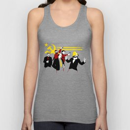 The Communist Party (original) Unisex Tank Top