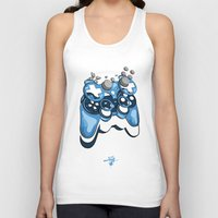 gamer Tank Tops featuring Gamer by Hey Yet