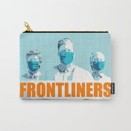 Frontliners Medical Staff Facing Virus Outbreak with Male Doctor Carry-All Pouch