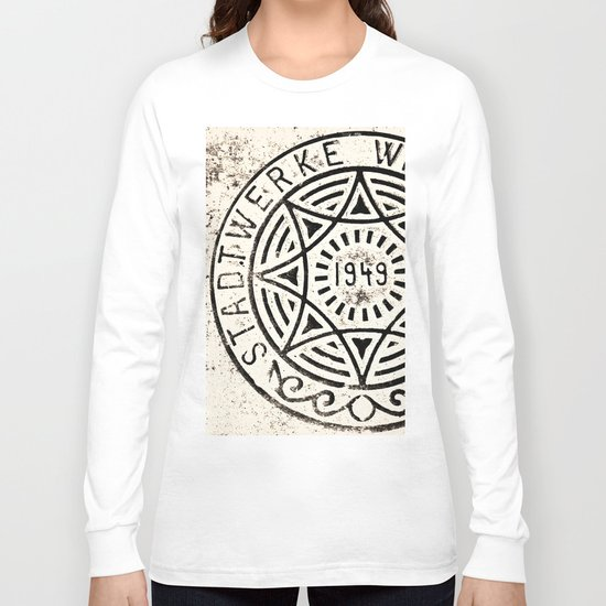 Manhole Cover  Long Sleeve T-shirt