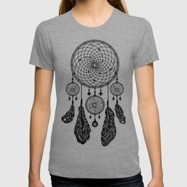 Dreamcatcher (Black & White) T-shirt
