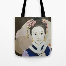 Her yearning Tote Bag