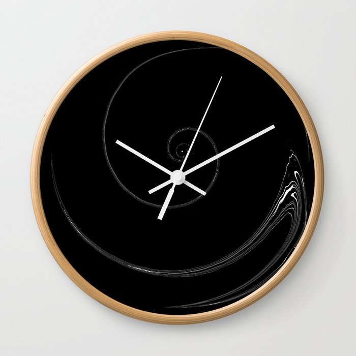 I often wonder about you. Wall Clock