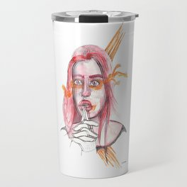 BREATHING I @EdART Travel Mug