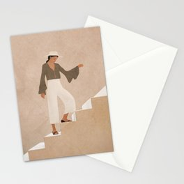 Stepping Up Stationery Cards