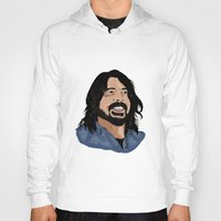 dave grohl Hoodies featuring Dave Grohl - Fan Art by Matty723