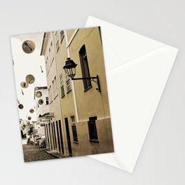 signs in the sky Stationery Cards
