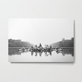 Versalles Metal Print