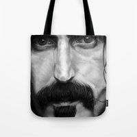 frank Tote Bags featuring Frank by ClaM