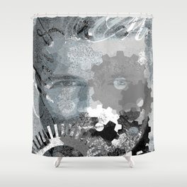 Art 2 Shower Curtain