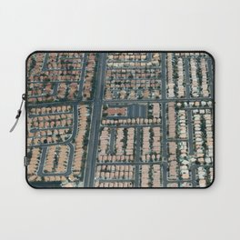 ARCH ABSTRACT 17: Urban sprawl #1, Las Vegas Laptop Sleeve