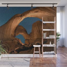 Double  Arch  - Nature Window in Utah Wall Mural