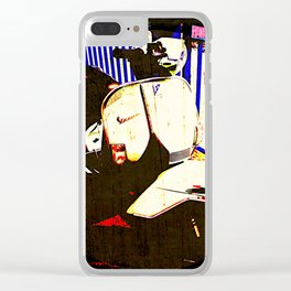 SCOOTER Clear iPhone Case