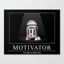 Bad Motivator Canvas Print