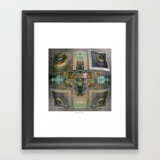 DMT Visuals #3 Framed Art Print