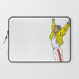 Freddy Mercury - Wembley, 1986 Laptop Sleeve