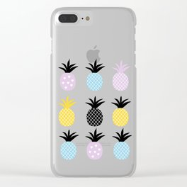 Pineapple Love Clear iPhone Case