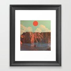 Day 0090 /// Lake Jell-Oh Framed Art Print