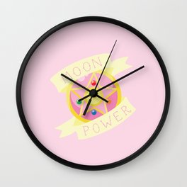 Moon Power Wall Clock