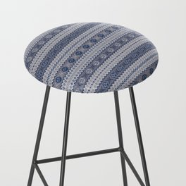 Granny's Fairisle Bar Stool