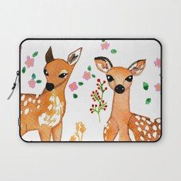 Springtime Deer  Laptop Sleeve