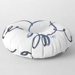 Love Dove Floor Pillow