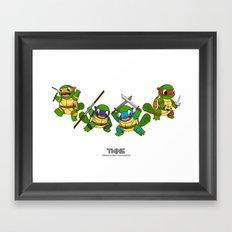 TMNS Framed Art Print