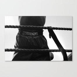 MY SMILING FACE SHOWED I HAD NO IDEA WHAT HE HAD BEEN THROUGH Canvas Print