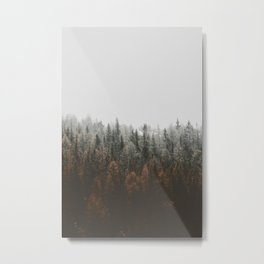 Winter forest trees #3 Metal Print