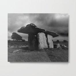 Poulnabrone Dolmen Metal Print