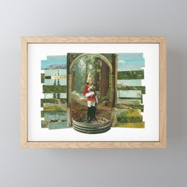 Nature Colosseum Collage Framed Mini Art Print