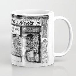 King's Newsagents, Kings Parade, Cambridge, UK. Coffee Mug