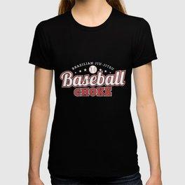 - Bjj Brazillian Jiu-Jitsu Baseball Choke Submission T-shirt