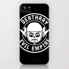 DeathRay Evil Empire Logo iPhone Case