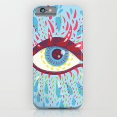 Weird Blue Psychedelic Eye Slim Case iPhone 6s