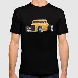 Classic American 32 Hotrod Car Illustration T-shirt