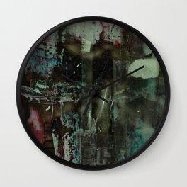 garnet black Wall Clock