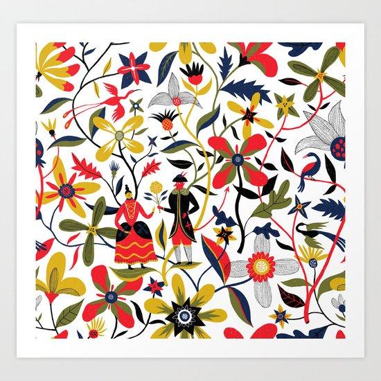 The Devil's Garden Art Print