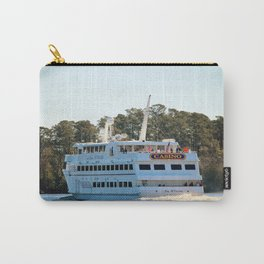 Back Of Gambling Ship Carry-All Pouch