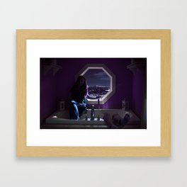 Queen of the Tub Framed Art Print