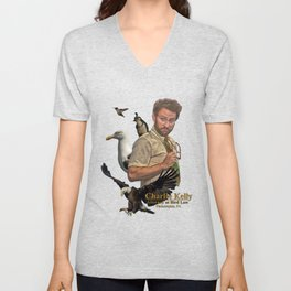 Charlie Kelly: Attorney at Bird Law - Always Sunny - Fan Art Unisex V-Neck