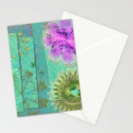 Dezincking Existence Flower  ID:16165-094422-82461 Stationery Cards
