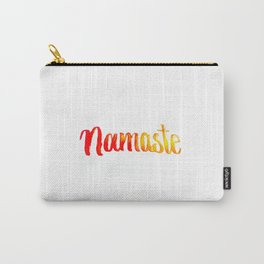 Namaste Written with water Carry-All Pouch