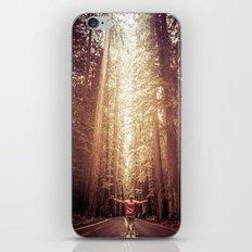 Forest Redwoods Road Trip - Adventure Wanderlust California Fog iPhone & iPod Skin