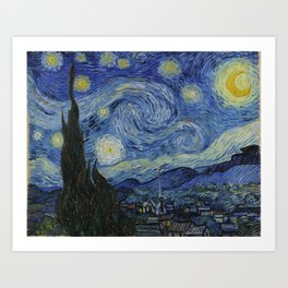 The Starry Night Art Print