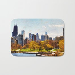 Chicago Panorama Bath Mat