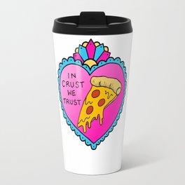 Pizza Heart (Colour) Travel Mug