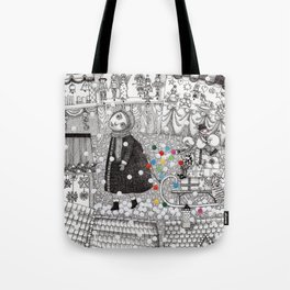 After Hours at the Christmas Market Tote Bag