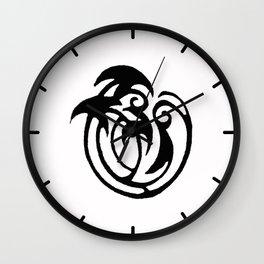 Black and White Design 58 Wall Clock