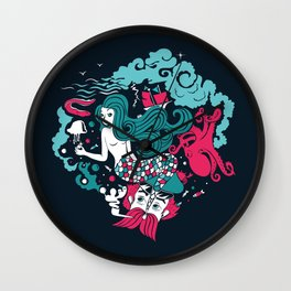 Rêve marin Wall Clock